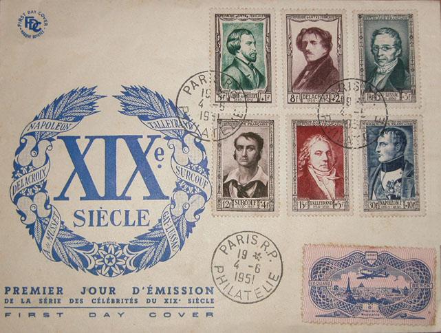 04/06/1951 - Personnages célèbres du XIXème siècle